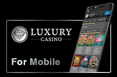 Luxury Casino - Mobile gaming