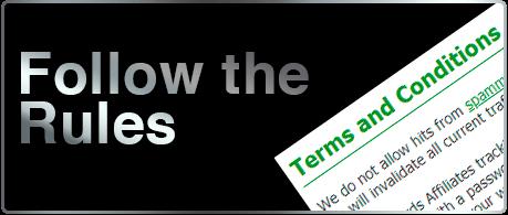 Affiliate Program Rules of Reward Group